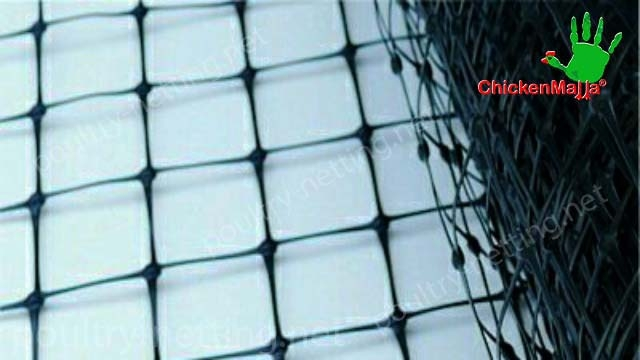 Poultry netting product close up
